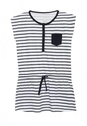 Платье Losan. Цвет: белый