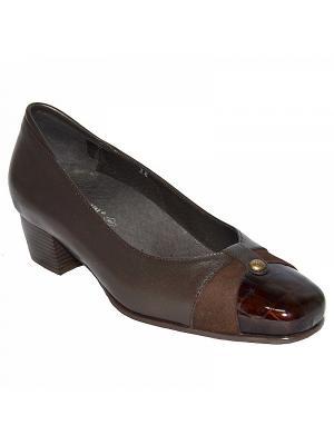 Комфортная обувь PAOLA, арт. C001.2 ORTMANN. Цвет: коричневый