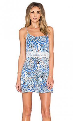 Платье provence Eight Sixty. Цвет: синий