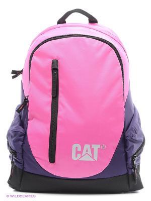 Рюкзак Caterpillar. Цвет: черный, фиолетовый, розовый