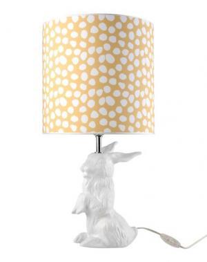 Настольная лампа DOMESTIC. Цвет: белый