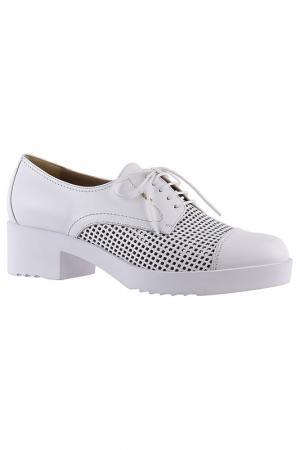 Ботинки Norma J. Baker. Цвет: белый