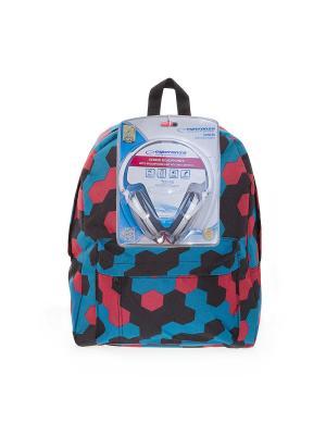 Рюкзак 3D Bags. Цвет: синий, красный, черный