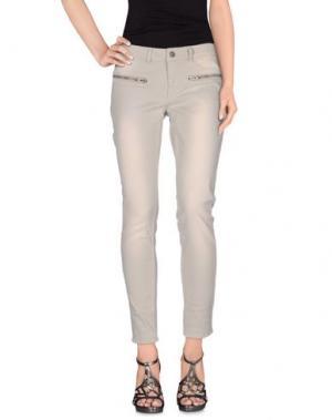 Джинсовые брюки TWIST & TANGO. Цвет: светло-серый