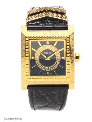Часы Versace. Цвет: золотистый, черный