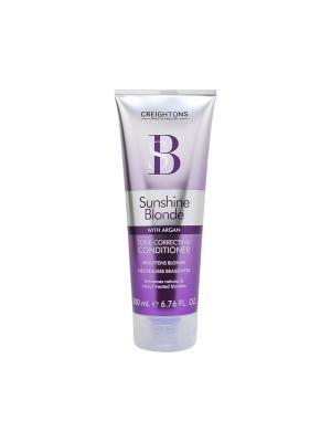 Кондиционер для восстановления и защиты цвета светлых волос CREIGHTONS. Цвет: фиолетовый