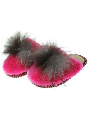 Тапочки женские Prestige Collection. Цвет: розовый