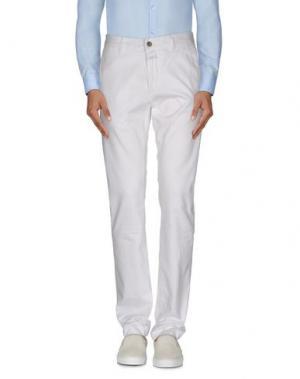 Повседневные брюки CLOSED. Цвет: белый