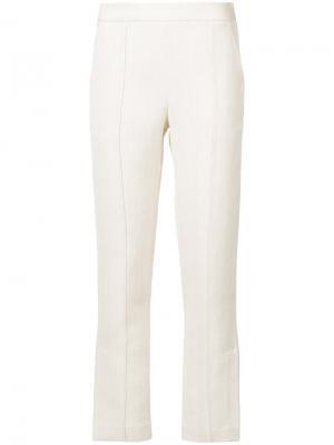 Укороченные брюки Rosie Assoulin. Цвет: телесный