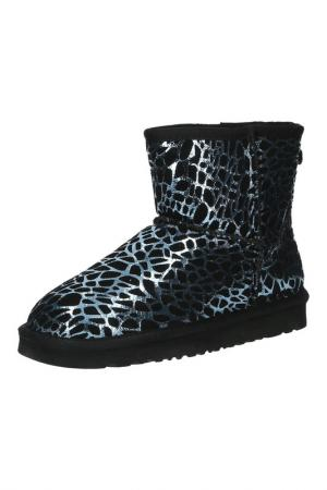 Ботинки Wilmar. Цвет: черный, голубой
