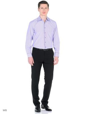 Рубашка VipDressCode. Цвет: фиолетовый
