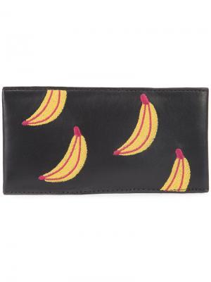 Футляр для очков с бананами Lizzie Fortunato Jewels. Цвет: чёрный