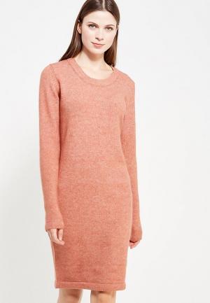 Платье Ichi. Цвет: коралловый