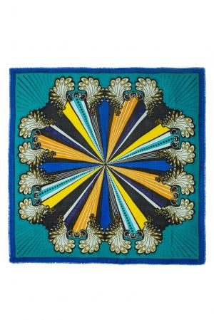 Платок из шерсти 183405 Moltini. Цвет: разноцветный