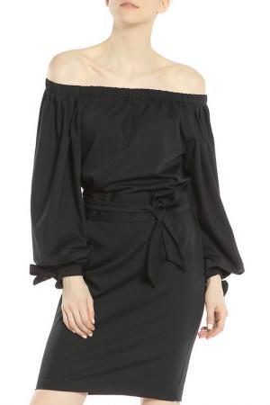Платье, пояс Piena. Цвет: черный