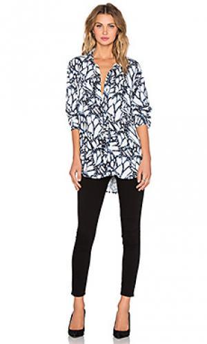 Рубашка с длинным рукавом the shirt Stillwater. Цвет: синий