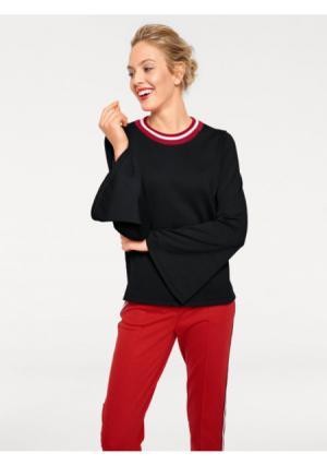 Пуловер RICK CARDONA by Heine. Цвет: красный, черный