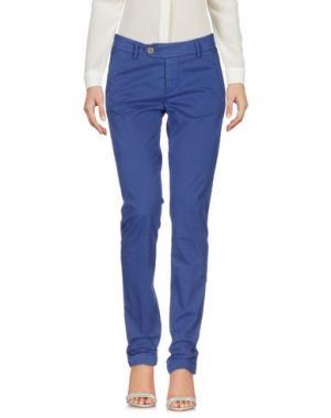 Повседневные брюки ROŸ ROGER'S. Цвет: синий
