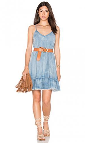 Мини платье со шнуровкой сзади BLANKNYC. Цвет: none