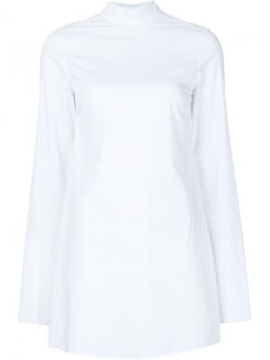 Платье-рубашка Alexa Misha Nonoo. Цвет: белый