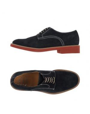Обувь на шнурках BRAWN'S. Цвет: темно-синий