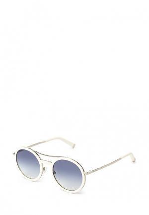 Очки солнцезащитные Max Mara. Цвет: белый