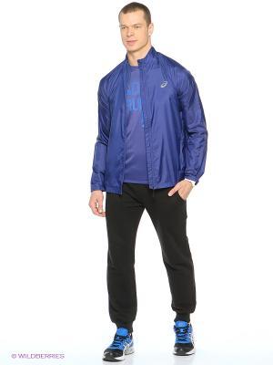 Куртка Woven Jacket ASICS. Цвет: синий
