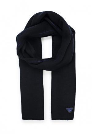 Шарф Armani Jeans. Цвет: черный