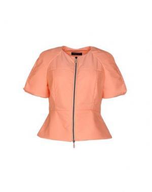 Куртка +MINI. Цвет: лососево-розовый