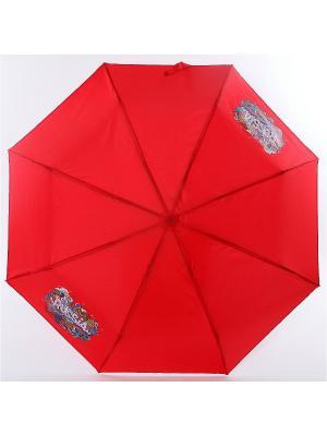 Зонт ArtRain. Цвет: зеленый, бордовый