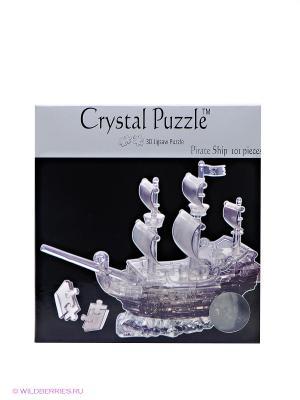 3D головоломка Пиратский корабль Crystal puzzle. Цвет: черный, серый