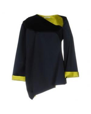 Блузка THOMAS TAIT. Цвет: темно-синий
