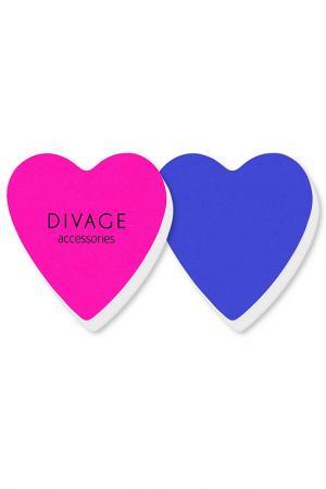 Полировочные бафферы, 2 шт Divage. Цвет: розовый голубой