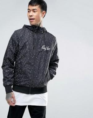 Cayler & Sons Куртка-ветровка с принтом. Цвет: черный
