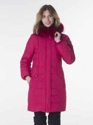 Куртка EPATAGE. Цвет: красный