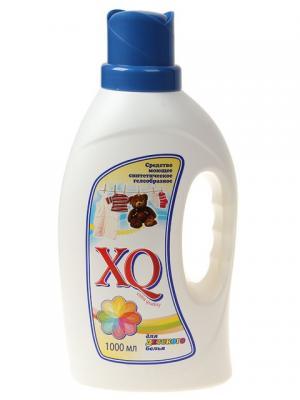 Средство моющее синтетическое гелеобразное для белого белья, 1 л XQ. Цвет: прозрачный