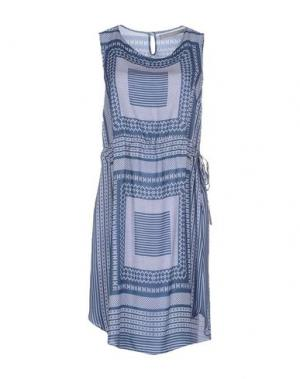 Короткое платье ROSAMUNDA. Цвет: синий