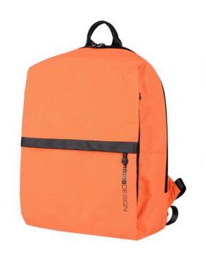 Рюкзаки и сумки на пояс MOMO DESIGN. Цвет: оранжевый
