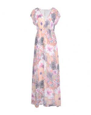 Длинное платье EMMA&GAIA. Цвет: розовый