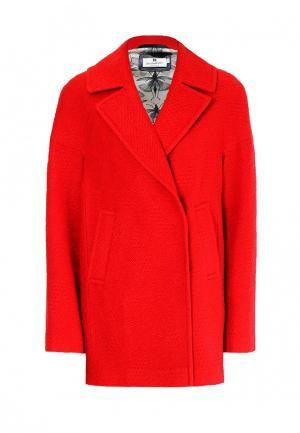 Пальто Bergamoda. Цвет: красный