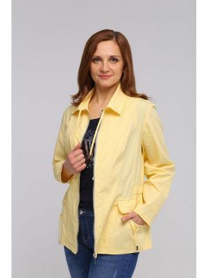 Куртка ВИТА. Цвет: желтый