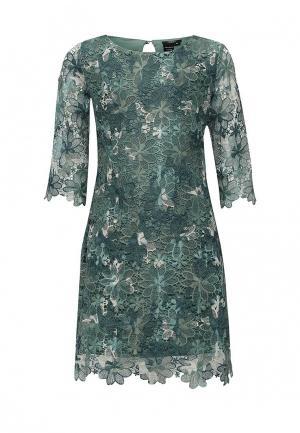 Платье Guess. Цвет: зеленый