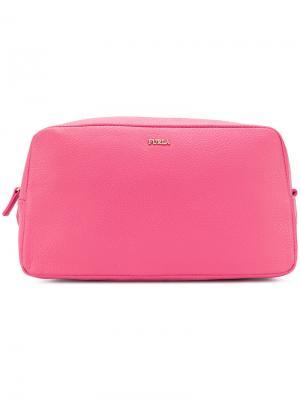 Косметичка Electra Furla. Цвет: розовый и фиолетовый