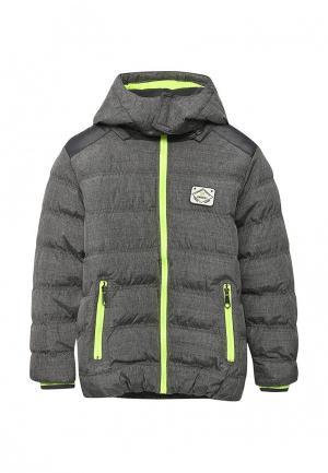 Куртка утепленная Lemon Beret. Цвет: серый