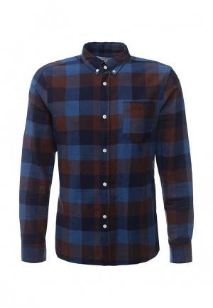 Рубашка Bellfield. Цвет: синий