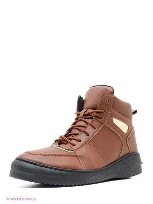Ботинки VIVIAN ROYAL. Цвет: коричневый