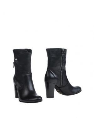 Полусапоги и высокие ботинки SCOOP!. Цвет: черный