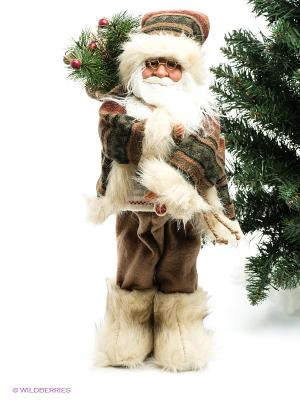 Дед Мороз MAXITOYS. Цвет: бежевый, коричневый