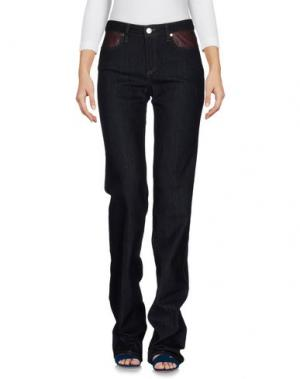 Джинсовые брюки CM.100. Цвет: синий