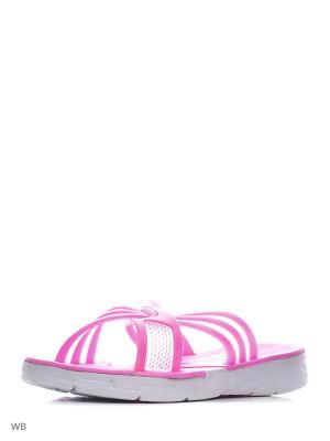 Шлепанцы Mon Ami. Цвет: розовый